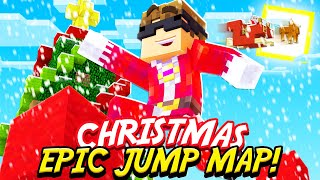 Minecraft: Epic Jump Map Christmas Edition Part 1!