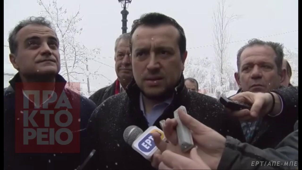 Επίσκεψη Νίκου Παππά στην Κοζάνη