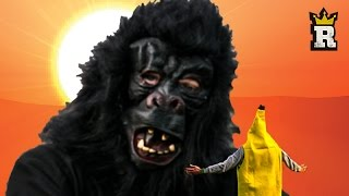 Forget about Kong: Skull Island, the real blockbuster event is here on Rule'm Sports! A story of revenge, Banana takes on Kong himself in a series of football challenges! Winner takes all!I WAS RAISED IN THESE STREETS - http://bit.ly/2hYxzEISubscribe http://bit.ly/RULEMSportsKeep up with RULE'M Like us http://bit.ly/rulemFBFollow us http://bit.ly/RULEMtweets+1 us http://bit.ly/RULEMplusInstagram: http://bit.ly/RULEMgramsWARNING: The following video features stunts performed either by professionals or under the supervision of professionals and was filmed in a safe, controlled environment. Accordingly, you must not attempt to re-create or re-enact any stunt or activity performed on this video. Endemol and its producers are not responsible for any injuries you sustain as a result of trying any such stunt or activity.