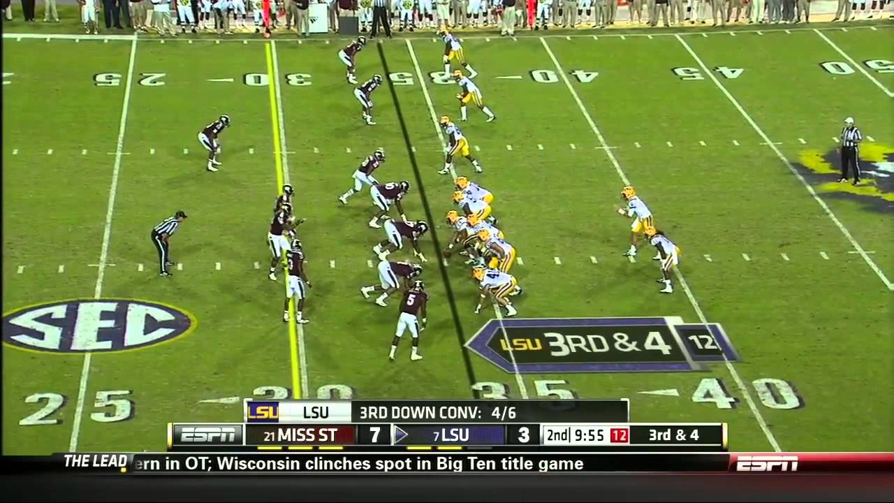 Johnthan Banks vs LSU (2012)