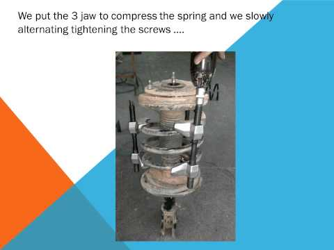 How to change the car front suspension