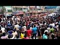লকডাউনের প্রতিবাদে রাজশাহীতে ব্যবসায়ীদেরআন্দোলন