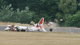 4 X RC PLANE CRASHS AT THE LMA RC MODEL AIRCRAFT SHOW AT RAF COSFORD - 2013