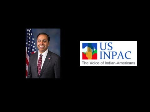 USINPAC's Interview with Congressman Krishnamoothi