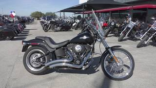 7. 054667 - 2006 Harley Davidson Softail Night Train   FXSTBI - Used motorcycles for sale