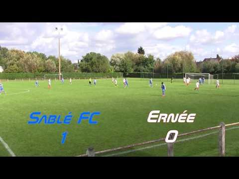 U16 DH - Les huit buts du match Sablé - Ernée 16.09.2017