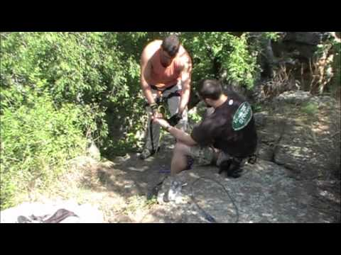 Setting up a Fixed Rappel Station