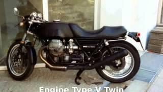 1. 2004 Moto Guzzi V11 Le Mans  motorbike superbike
