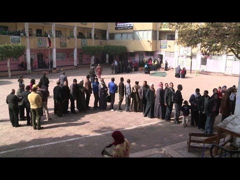 Egypt resumes voting on charter seen key to general's future
