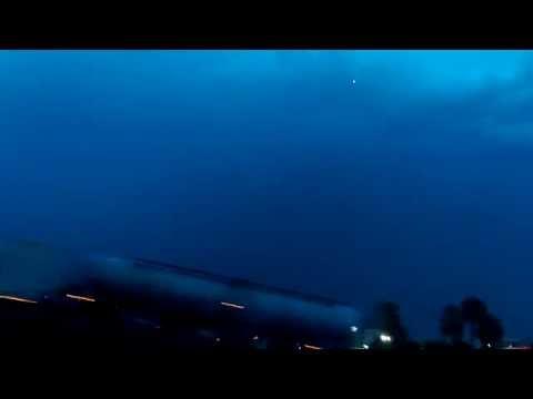 美國休士頓上空懷疑拍到外星人蹤跡,你看到嗎?