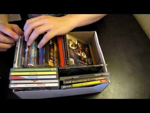 Vlog #13 2-я часть Моя коллекция старых игр для PC / PC old games