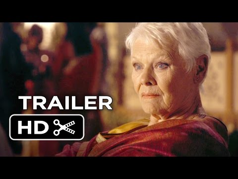 The Second Best Exotic Marigold Hotel Official Trailer #1 (2015) – Judi Dench Movie HD
