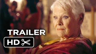 The Second Best Exotic Marigold Hotel Official Trailer  1  2015    Judi Dench Movie Hd