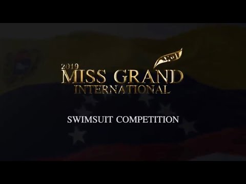 MISS GRAND INTERNATIONAL 2019 SWIMSUIT COMPETITIONS