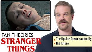 Video David Harbour Breaks Down Stranger Things Fan Theories from Reddit | Vanity Fair MP3, 3GP, MP4, WEBM, AVI, FLV Juli 2019