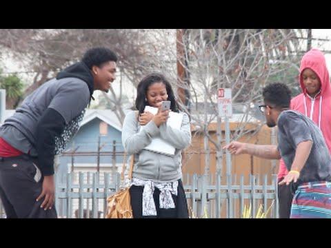 Nerd Raps Fast in Compton