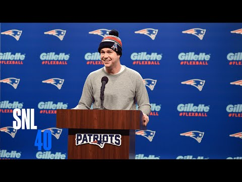 Patriots Press Conference Cold Open - Saturday Night Live
