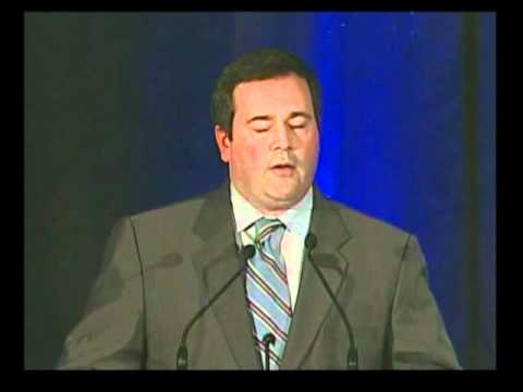 Hon. Jason Kenney speaks at Gala Dinner.