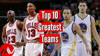 Video Top 10 Greatest NBA Teams Ever MP3, 3GP, MP4, WEBM, AVI, FLV Februari 2019