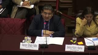 Contraloría expone en Comisión de Economía 11/10/2017