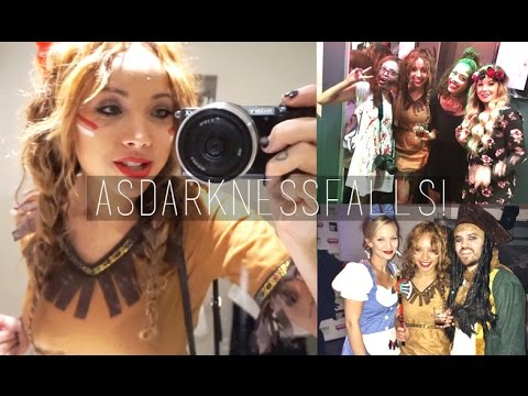 Falls - I get ready & go to the Halloween 'as darkness falls' party & meet lots & lots of lavely people! (And get a bit drunk, whoops) ♡SOCIAL MEDIA♡ Main channel - http://www.youtube.com/beautycrush...