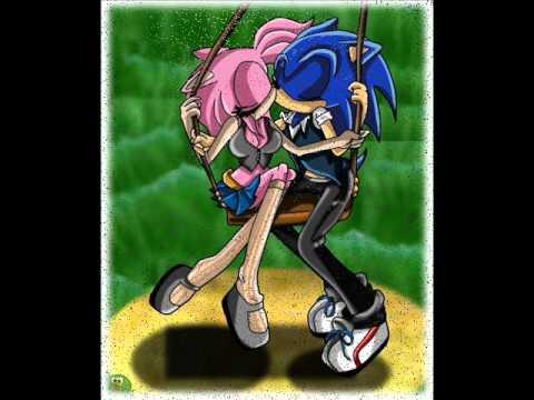 Sonic y Amy - Llueve el amor (видео)