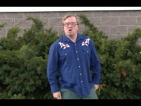 Bubbles from the Trailer Park Boys does the ALS Challenge.