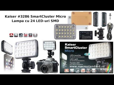 Prezentare Lampa cu 24 LED-uri SMD Kaiser #3286 SmartCluster Micro