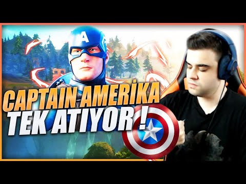 YENİ KAPTAN AMERİCA KOSTÜMÜ ! FORTNITE BATTLE ROYALE