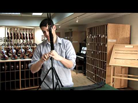 Video - Extra Tall Light Music Stand with Bag | LS5T
