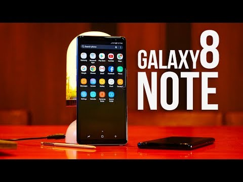 We're hands on with the new Samsung Galaxy Note 8!