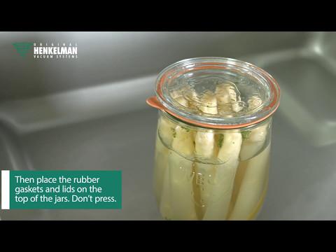 Vacuum Sealing Glass Jars