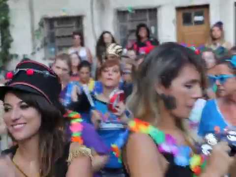 As Batucas no carnaval da Vila Flores