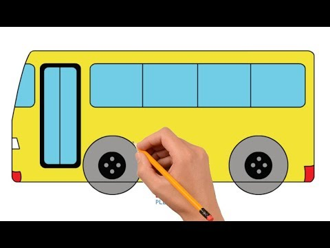 How To Draw A School Bus Easy Step Mp3 Download Naijaloyal Co