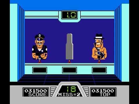Hogan's Alley - Nintendo NES - Boîte Sans Notice - Occasion - PAL