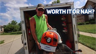 9. Stihl BR700 Review, Better Or Worse Than The BR600?