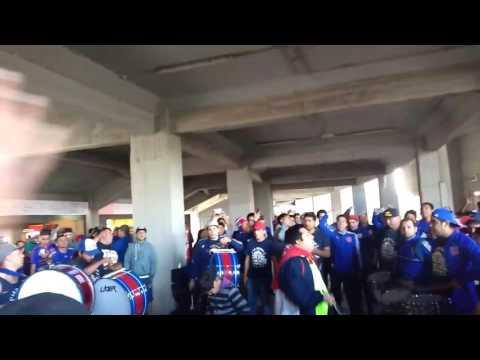 """Universidad de Chile vs las zorras Previa """"esta es tu hinchada"""" - Los de Abajo - Universidad de Chile - La U - Chile - América del Sur"""
