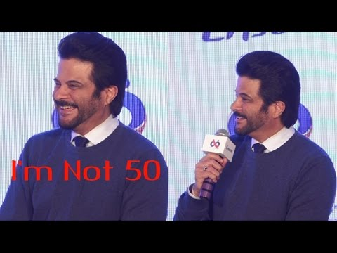 Anil Kapoor Funniest Reply | I'm Not 50