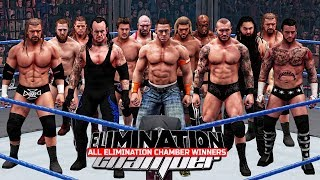 Nonton All Elimination Chamber Winners 2002   2017    Wwe 2k18   Film Subtitle Indonesia Streaming Movie Download