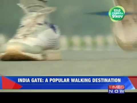 India Gate: A popular walking destination 24 October 2014 05 PM
