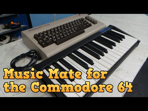 Sequential Music Mate for the Commodore 64