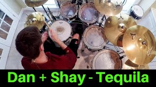 Video Dan + Shay - Tequila (Drum Cover) download in MP3, 3GP, MP4, WEBM, AVI, FLV January 2017