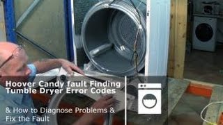 http://www.how-to-repair.com/help/how-to-service-a-hoover-candy-condenser-tumble-dryers/In this video repair manual I will show you how to find the faults and diagnose the problems like Belt,  Fan, Bearing, Motor, Capacitor, Pressure Switch, float switch, drum, Wheel, ntc, sensor, thermostat, Thermal Limiter, 1930 H7, Door Duct Seal, Filter, Water Container Valve, Condenser, it will help you replace partscan be used on models below.Hoover, ABH, NV, CDV, CIV, HDV, HNV, TVE, VHCCandyCDV, CIV, EVOC, GOCand some Maytag, Helkama, Kelvinator, Otsein, Teka, Terzismo, Zerowatt Models