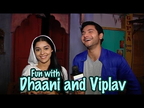 Video Fun time with Dhaani and Viplav aka Eisha and Mishal from the sets of Ishq Ka Rang Safed download in MP3, 3GP, MP4, WEBM, AVI, FLV January 2017