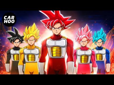 GOKU SAIYAN RANGERS 【 Dragon Ball Super & Power Rangers Parody 】 (видео)