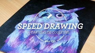 Video Speed drawing - Hibou MP3, 3GP, MP4, WEBM, AVI, FLV Juni 2017