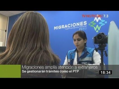 Migraciones atenderá las 24 horas a extranjeros en sede central de Breña