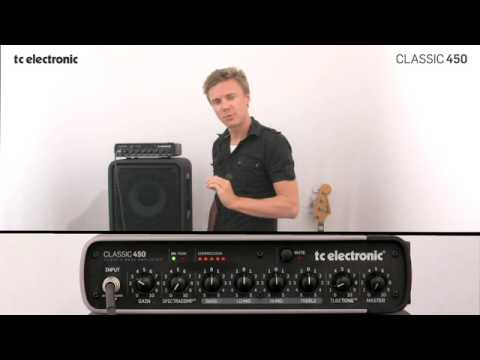 TC Electronic Classic450 bass amp Tubetone™