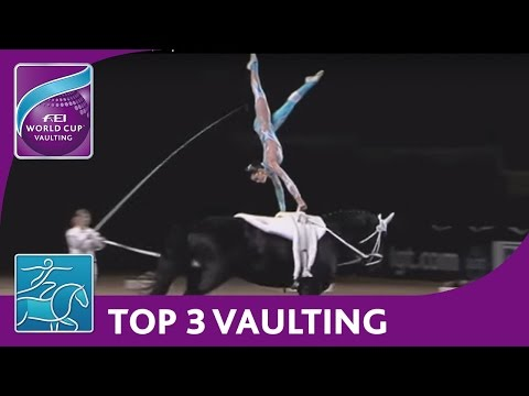 FEI World Cup™ Vaulting - Munich, Top 3 Females
