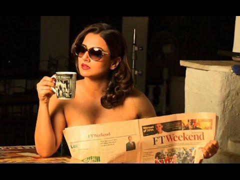 Video Vidya Balan's Topless HOT Photoshoot   Dabboo Ratnani Calendar Making - 2015 (Full Video) download in MP3, 3GP, MP4, WEBM, AVI, FLV January 2017